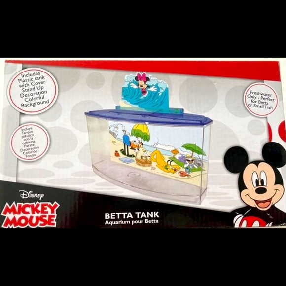 Mickey Mouse Betta tank NEW never opened